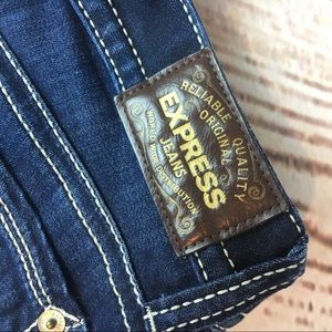 Express Jeans - NEW Express Jeans Stella Low Rise Legging Size 6R